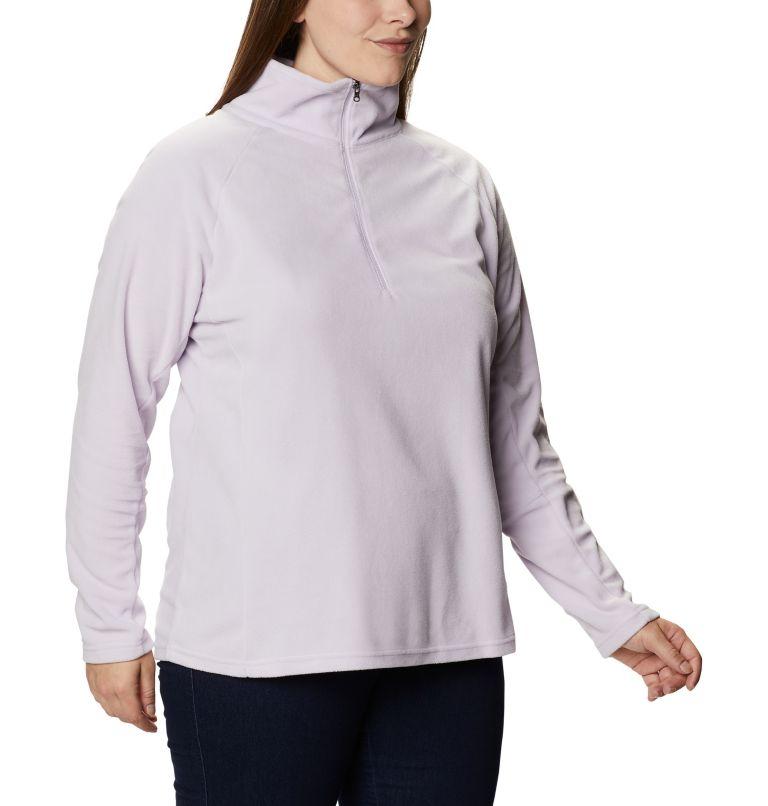 Glacial™ IV 1/2 Zip | 584 | 1X Women's Glacial™ IV 1/2 Zip - Plus Size, Pale Lilac, a3