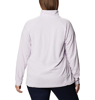 Women's Glacial™ IV 1/2 Zip - Plus Size Glacial™ IV 1/2 Zip | 430 | 1X, Pale Lilac, back