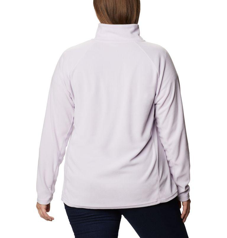 Glacial™ IV 1/2 Zip | 584 | 1X Women's Glacial™ IV 1/2 Zip - Plus Size, Pale Lilac, back