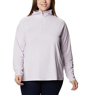 Women's Glacial™ IV 1/2 Zip - Plus Size Glacial™ IV 1/2 Zip | 430 | 1X, Pale Lilac, front