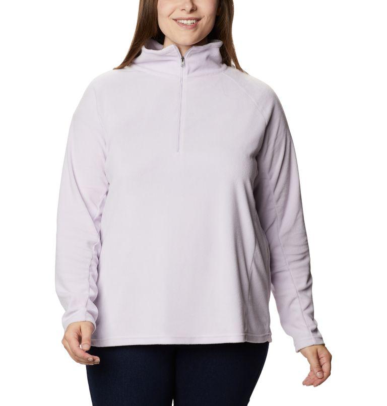 Glacial™ IV 1/2 Zip | 584 | 1X Women's Glacial™ IV 1/2 Zip - Plus Size, Pale Lilac, front