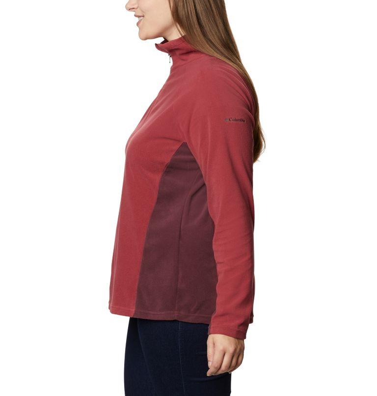 Glacial™ IV 1/2 Zip | 619 | 1X Women's Glacial™ IV 1/2 Zip - Plus Size, Marsala Red, Malbec, a1