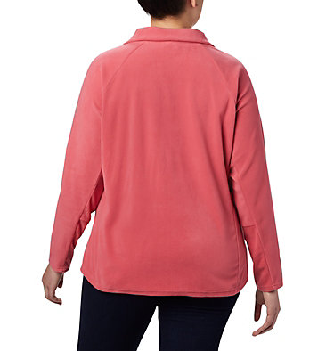 Women's Glacial™ IV 1/2 Zip - Plus Size Glacial™ IV 1/2 Zip | 430 | 1X, Rouge Pink, back