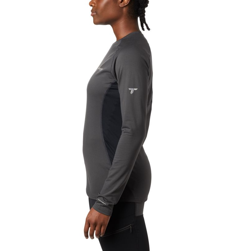 Omni-Heat 3D™ Knit Crew Top | 011 | S Women's Titanium OH3D™ Knit Crew Top, Shark, Black, a1
