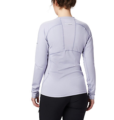 Titanium OH3D™ Strick-Top mit Rundhalsausschnitt für Damen Omni-Heat 3D™ Knit Crew Top | 580 | L, Twilight, Dusty Iris, back