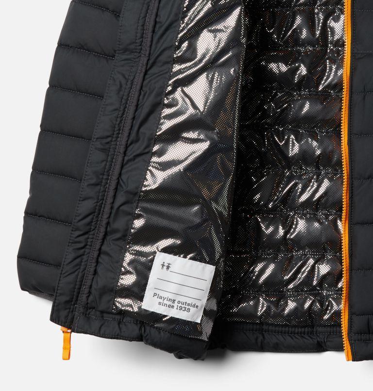 Powder Lite™ Boys Hooded Jacket | 011 | S Giacca con cappuccio Powder Lite™ da Ragazzo, Shark, a1