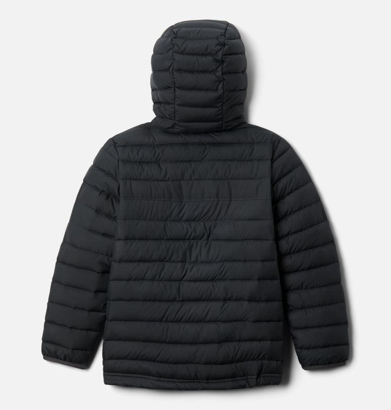 Powder Lite™ Boys Hooded Jacket | 011 | S Giacca con cappuccio Powder Lite™ da Ragazzo, Shark, back