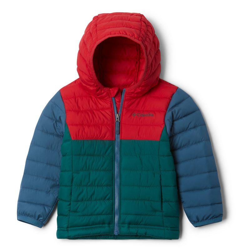 Powder Lite™ Boys Hooded Jacket Powder Lite™ Boys Hooded Jacket, front
