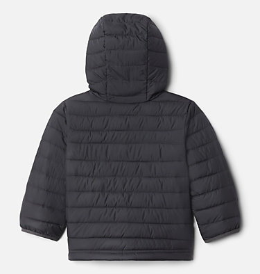 Boys' Toddler Powder Lite™ Hooded Jacket Powder Lite™ Boys Hooded Jacket | 432 | 2T, Shark, back