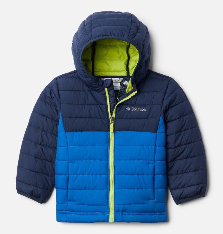 Boys' Toddler Powder Lite™ Hooded Jacket Boys' Toddler Powder Lite™ Hooded Jacket, front
