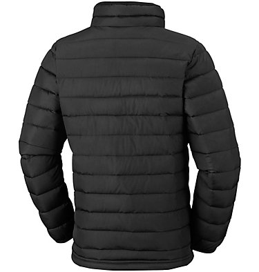 Powder Lite™ für Jungen Powder Lite™ Boys Jacket | 010 | L, Black, back