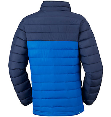 Powder Lite™ Boys Jacket Powder Lite™ Boys Jacket | 438 | L, Super Blue, Collegiate Navy, back