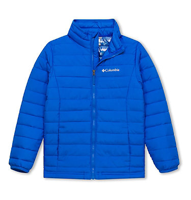 Powder Lite™ Boys Jacket Powder Lite™ Boys Jacket | 438 | L, Super Blue, front