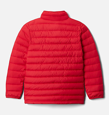 Powder Lite™ für Jungen Powder Lite™ Boys Jacket | 010 | L, Mountain Red, back