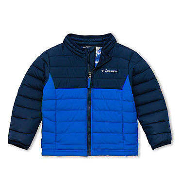 Powder Lite™ jacke für Kinder - Jungen Powder Lite™ Boys Jacket | 464 | 3T, Super Blue, Collegiate Navy, front