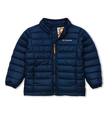 Toddlers' Powder Lite™ Jacket - Boys Powder Lite™ Boys Jacket | 010 | 3T, Collegiate Navy, front