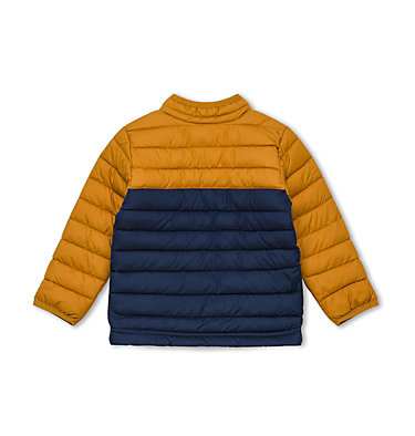 Veste Powder Lite™ Petit garçon Powder Lite™ Boys Jacket | 466 | 3T, Collegiate Navy, Canyon Gold, back