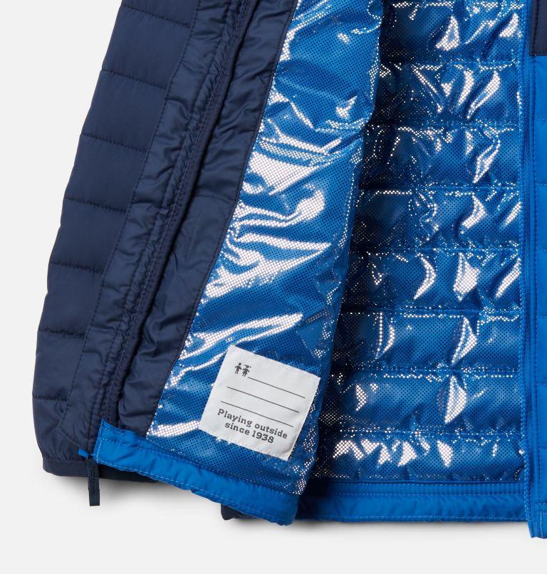 Powder Lite™ Boys Jacket | 468 | S Boys' Powder Lite™ Jacket, Collegiate Navy, Bright Indigo, a1