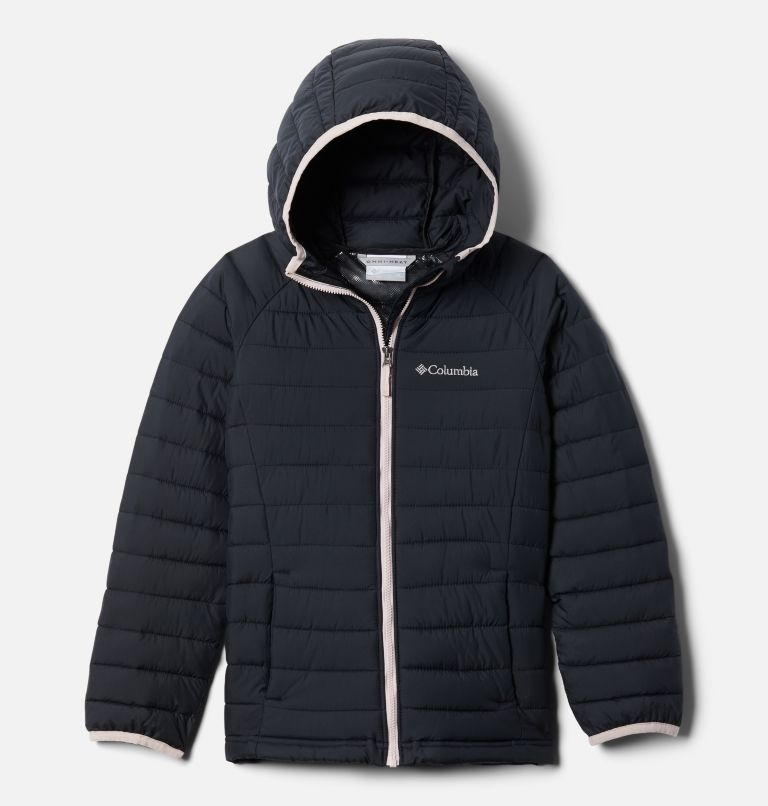 Powder Lite™ Girls Hooded Jacket Powder Lite™ Girls Hooded Jacket, front