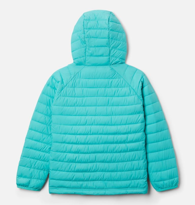Powder Lite™ Girls Hooded Jacket Powder Lite™ Girls Hooded Jacket, back