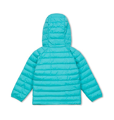 Veste À Capuche Powder Lite™ Fillette Powder Lite™ Girls Hooded Jacket | 356 | 2T, Geyser, back
