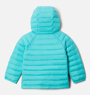 Powder Lite™ Kapuzenjacke für Kinder - Mädchen Powder Lite™ Girls Hooded Jacket | 356 | 2T, Dolphin, back