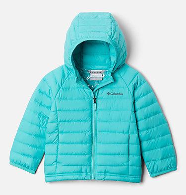 Powder Lite™ Kapuzenjacke für Kinder - Mädchen Powder Lite™ Girls Hooded Jacket | 356 | 2T, Dolphin, front