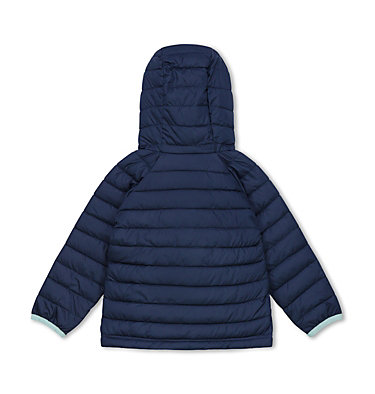 Veste À Capuche Powder Lite™ Fillette Powder Lite™ Girls Hooded Jacket | 356 | 2T, Nocturnal, back
