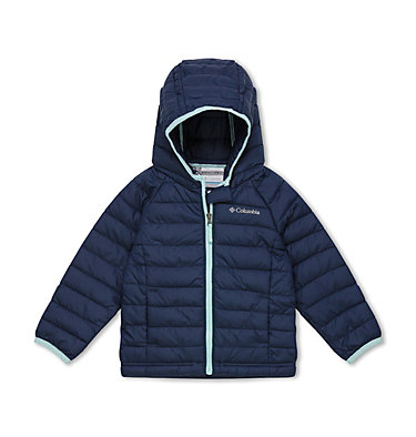 Veste À Capuche Powder Lite™ Fillette Powder Lite™ Girls Hooded Jacket | 356 | 2T, Nocturnal, front