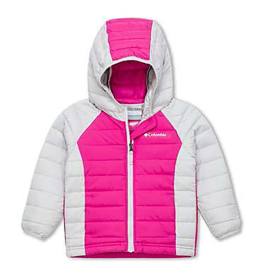 Toddlers' Powder Lite™ Hooded Jacket - Girls , front