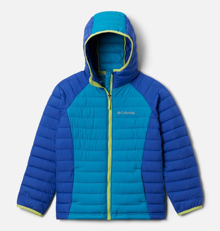 Girls' Powder Lite™ Hooded Jacket Girls' Powder Lite™ Hooded Jacket, front