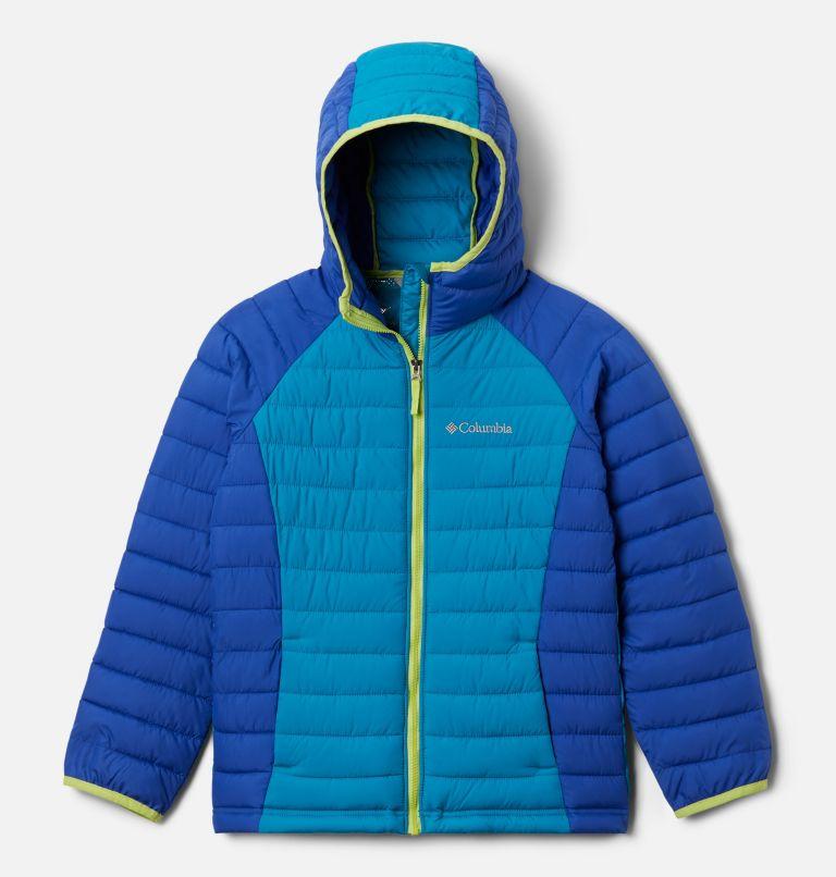 Manteau à capuchon Powder Lite™ pour fille Manteau à capuchon Powder Lite™ pour fille, front