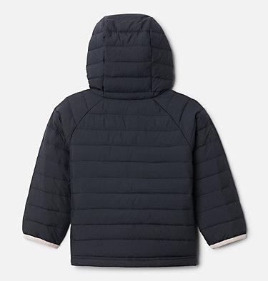 Girls' Toddler Powder Lite™ Hooded Jacket Powder Lite™ Girls Hooded Jacket | 410 | 4T, Black, back