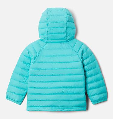 Girls' Toddler Powder Lite™ Hooded Jacket Powder Lite™ Girls Hooded Jacket | 410 | 4T, Dolphin, back
