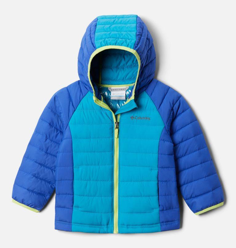 Girls' Toddler Powder Lite™ Hooded Jacket Girls' Toddler Powder Lite™ Hooded Jacket, front