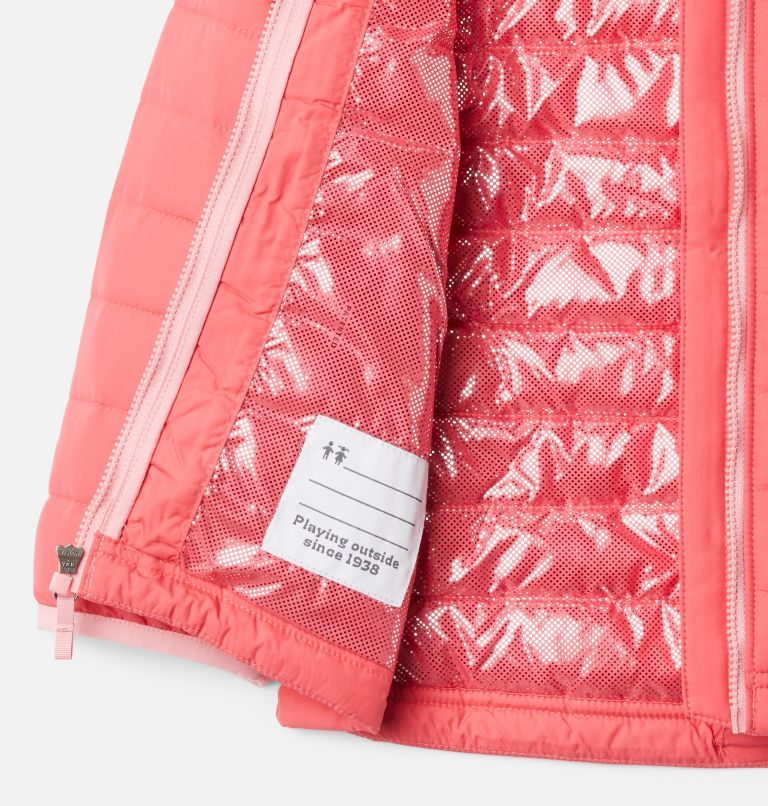 Girls' Toddler Powder Lite™ Hooded Jacket Girls' Toddler Powder Lite™ Hooded Jacket, a1