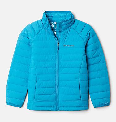 Veste Powder Lite™ Fille Powder Lite™ Girls Jacket | 012 | XS, Fjord Blue, front