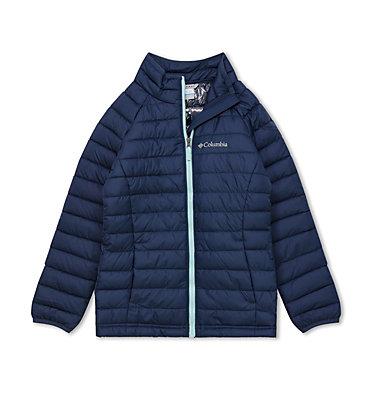 Powder Lite™ Jacke für Mädchen Powder Lite™ Girls Jacket | 307 | XS, Nocturnal, front