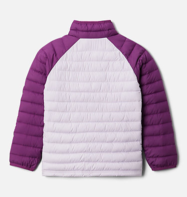 Powder Lite™ Jacke für Mädchen Powder Lite™ Girls Jacket | 012 | XS, Pale Lilac, Plum, back