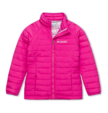 Powder Lite™ Girls Jacket , front