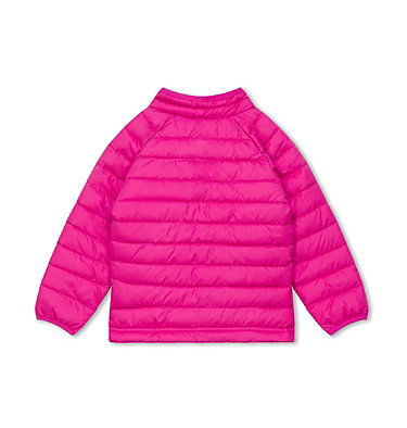 Powder Lite Jacke für Mädchen Powder Lite™ Girls Jacket | 695 | 2T, Pink Ice, back
