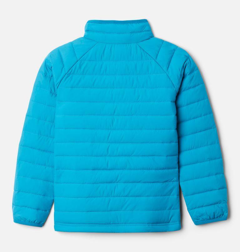 Powder Lite™ Girls Jacket | 462 | XS Girls' Powder Lite Jacket, Fjord Blue, back