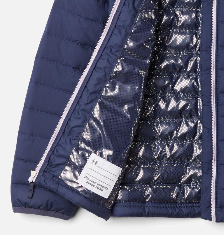 Powder Lite™ Girls Jacket | 468 | XS Girls' Powder Lite Jacket, Nocturnal, Pale Lilac, a1