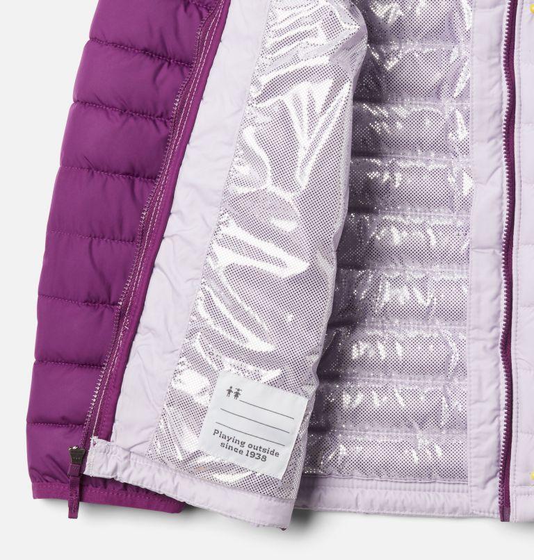 Powder Lite™ Girls Jacket | 584 | XXS Girls' Powder Lite Jacket, Pale Lilac, Plum, a1