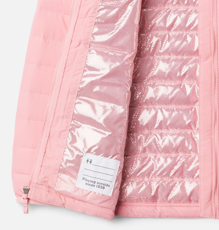 Powder Lite™ Girls Jacket | 689 | XXS Girls' Powder Lite Jacket, Pink Orchid, a1