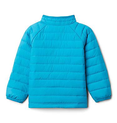 Girls' Toddler Powder Lite Jacket Powder Lite™ Girls Jacket | 584 | 3T, Fjord Blue, back