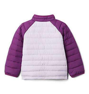 Girls' Toddler Powder Lite Jacket Powder Lite™ Girls Jacket | 584 | 3T, Pale Lilac, Plum, back