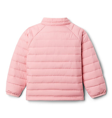 Girls' Toddler Powder Lite Jacket Powder Lite™ Girls Jacket | 584 | 3T, Pink Orchid, back