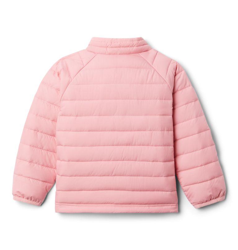 Powder Lite™ Girls Jacket | 689 | 2T Girls' Toddler Powder Lite Jacket, Pink Orchid, back