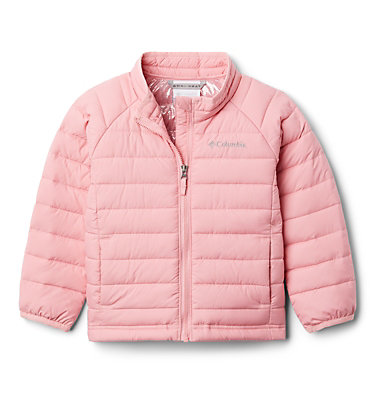 Girls' Toddler Powder Lite Jacket Powder Lite™ Girls Jacket | 584 | 3T, Pink Orchid, front